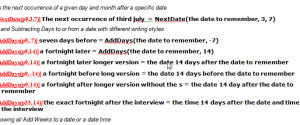 Policy Automation – Function Examples – Date Time Functions