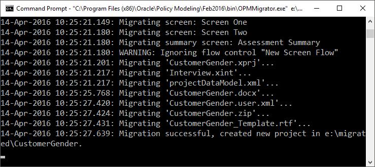 OPA 12 – Project Migrator OPMMigrator