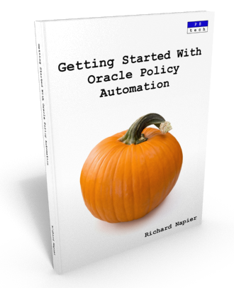 Getting Started With Oracle Policy Automation Book Now Available