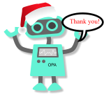 Happy Holidays from the OPA Hub Website