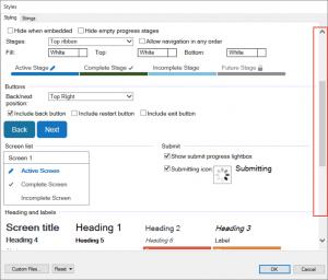 OPA 12 - November 2016 New Advanced Options Scrolling