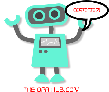 OPA 12 Certification Preparation Quiz #5 : New on the OPA Hub Website
