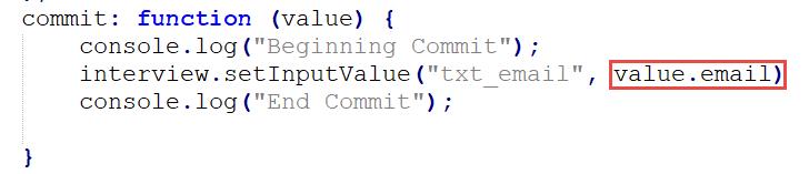 Intelligent Advisor – JavaScript Custom Search Extension