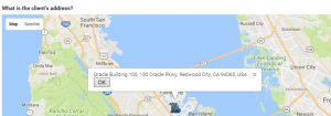 JavaScript Custom Extension Google Maps for Addresses and Reverse Geocoding 2