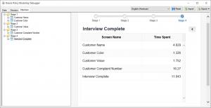 JavaScript Extension Custom Header as a Timer