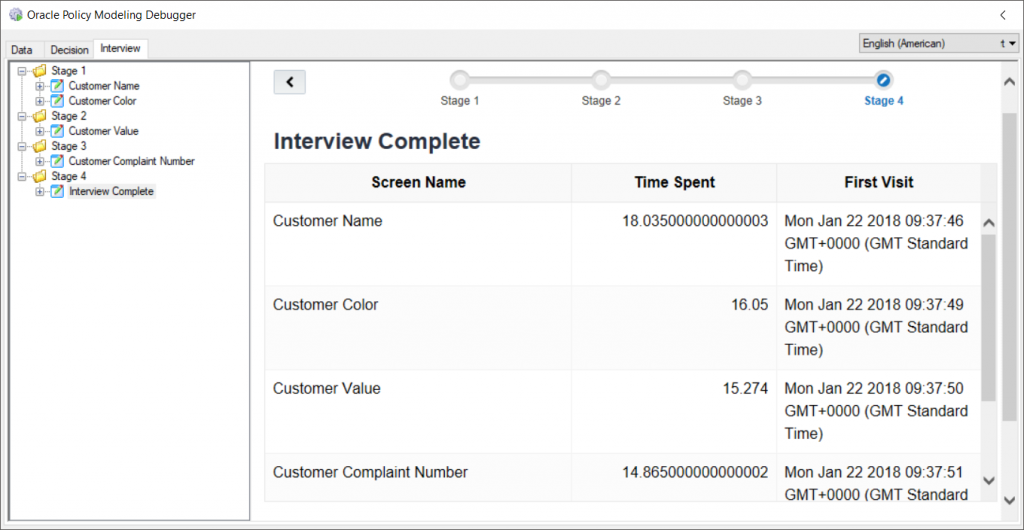 OPA 12 - JavaScript Extension Custom Header as a Timer in Oracle Policy Modelling 6