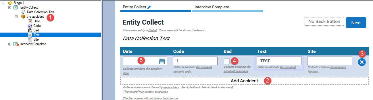 Custom Entity Collect Extension in Oracle Policy Automation #1