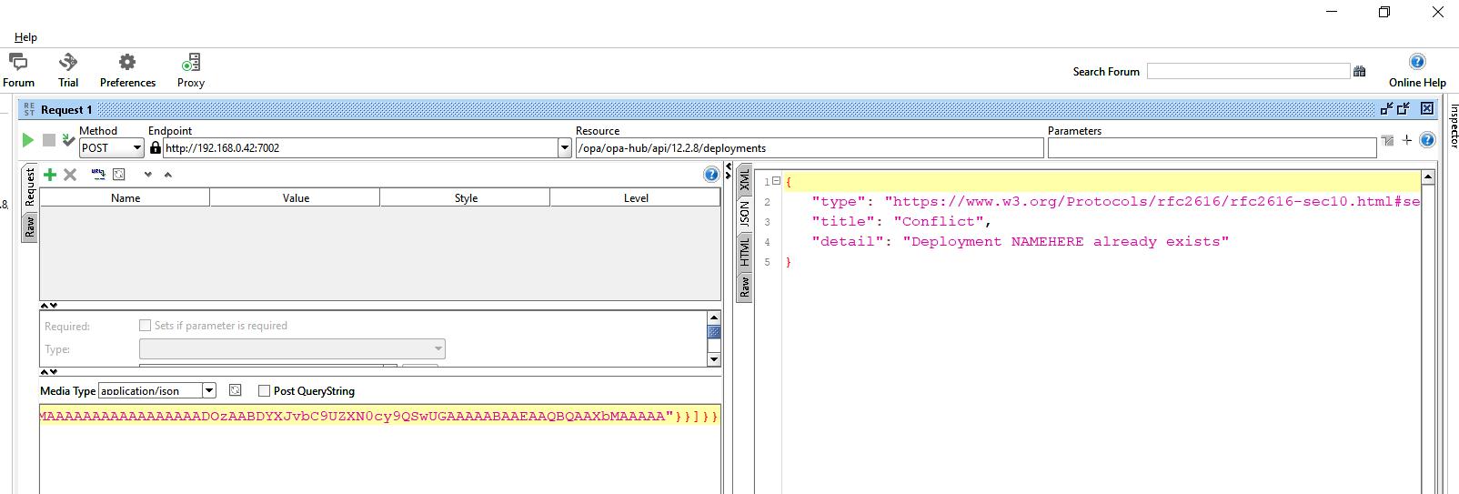 Oracle Intelligent Advisor REST API Authorization