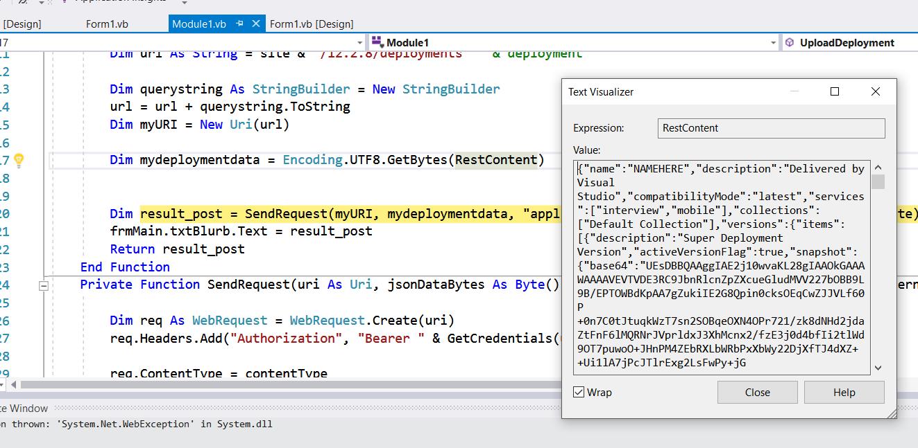 Deployment REST API : Uploading Zip Files #2