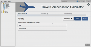 OPA 12 - Travel Compensation JavaScript Search Extension Airlines