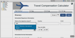 OPA 12 - Travel Compensation JavaScript Search Extension Airports