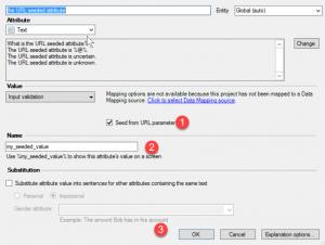 Seeding from a URL Parameter 1