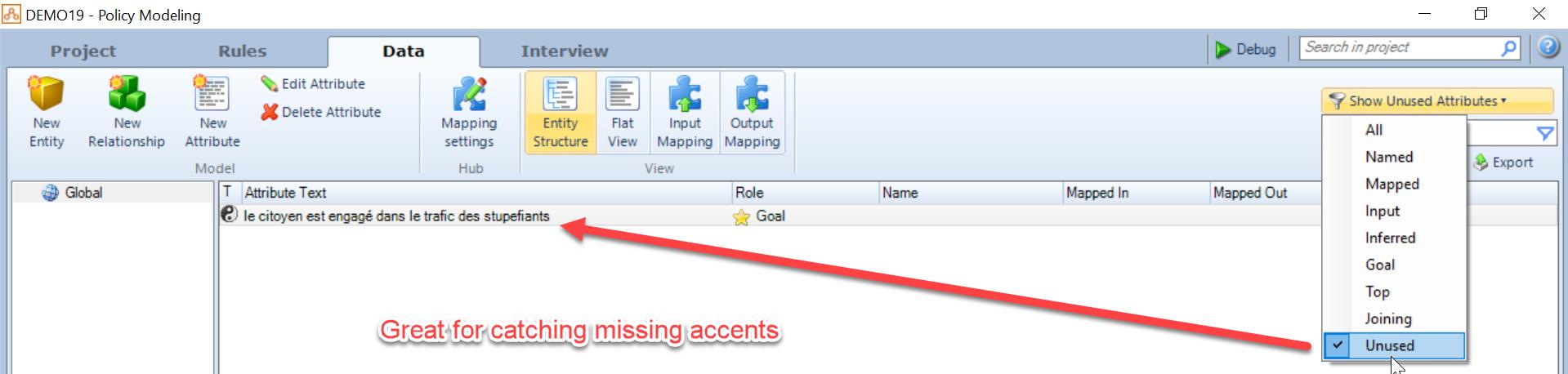 Back to OPA Basics - Unused Attributes