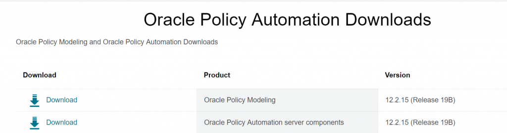 Whats New in Oracle Policy Automation 19B