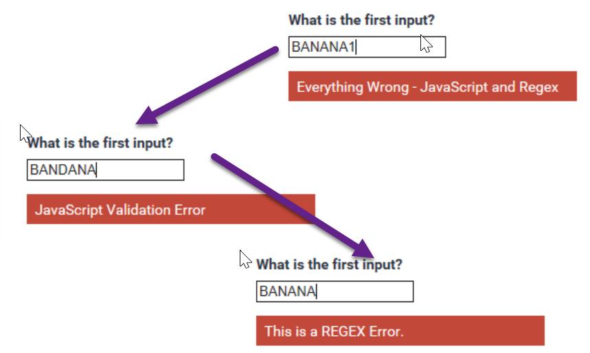 Input Extensions – Input Validation