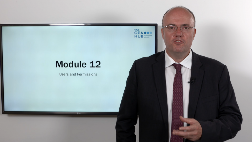 Users and Permissions Module 12