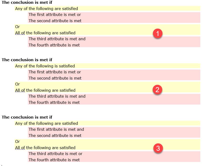Intelligent Advisor Certification Question Type Example