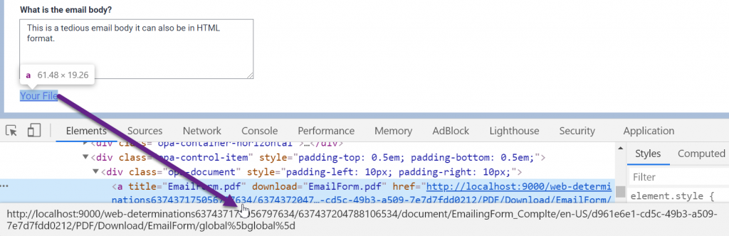 Send an Email with Attachment - Problem