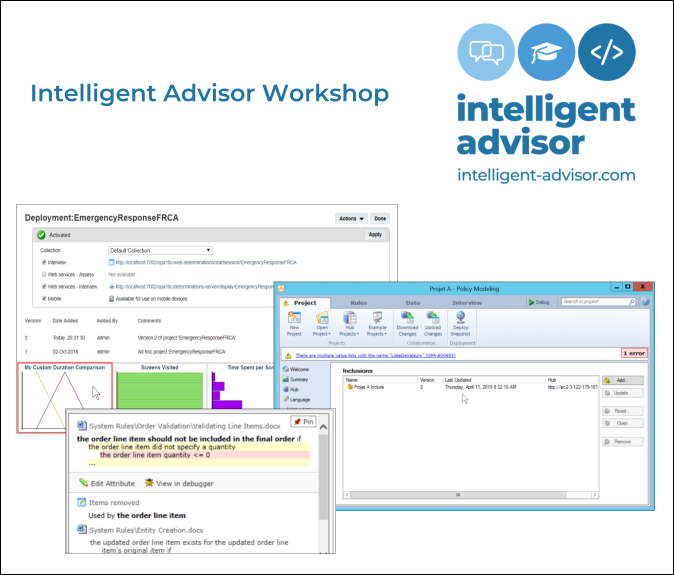 Intelligent Advisor Training - Workshop