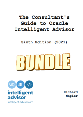 Consultants Guide to Oracle Intelligent Advisor 2021 Bundle logo