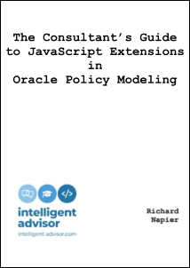 The Consultant's Guide to JavaScript Extensions in Oracle Policy Modeling